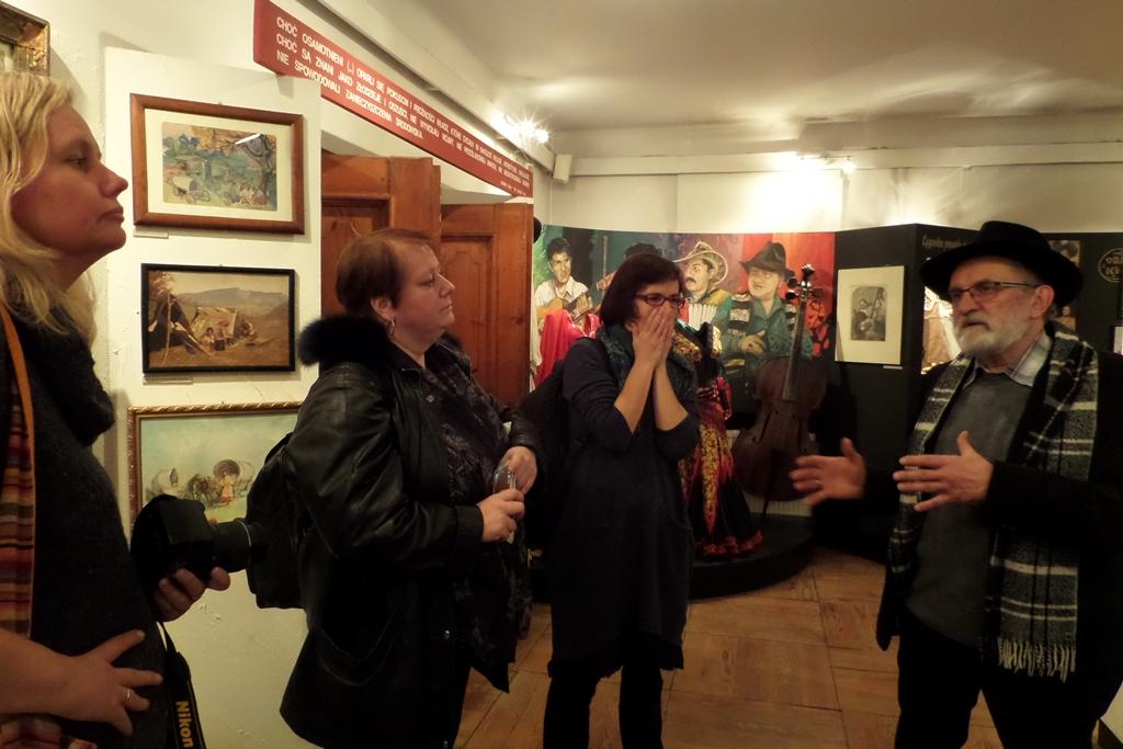 Wizyta w Muzeum Etnograficznym w Tarnowie.