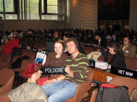 2007, CIU po raz kolejny reprezentowane na Młodzieżowym Forum UNESCO w Paryżu