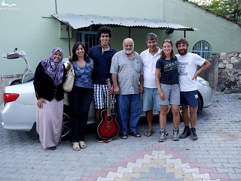 Ania i Jon z dwiema rodzinami w Turcji 2011