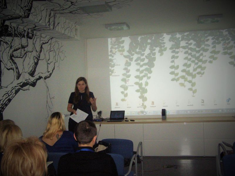 Justyna Kańczukowska prezentuje naszą organizację